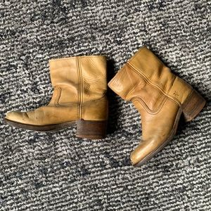 Frye campus custom booties